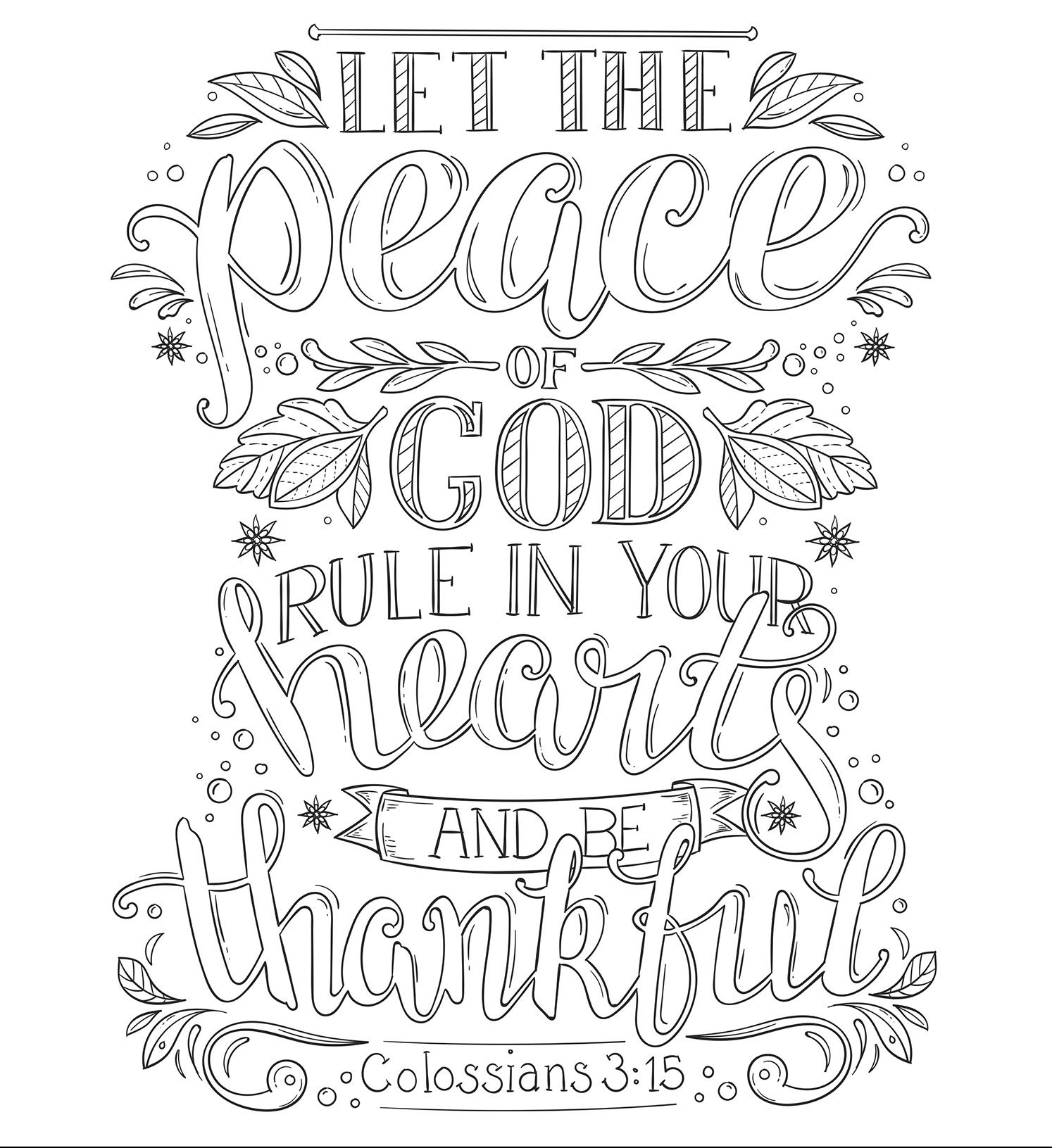 Coloring Pages Faith