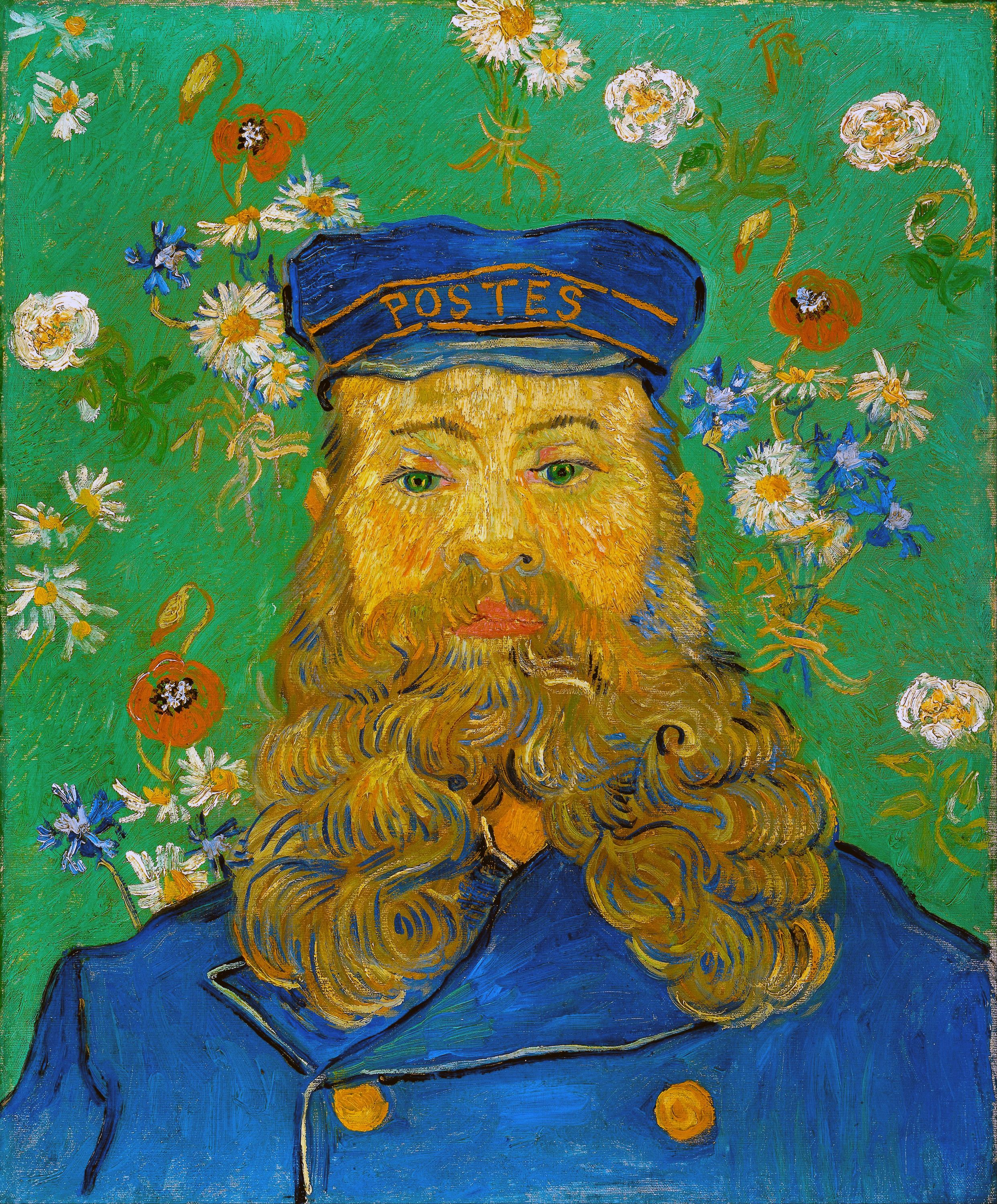 Portrait of Armand Roulin by Vincent Van Gogh Giclee Fine Art Repro on Canvas