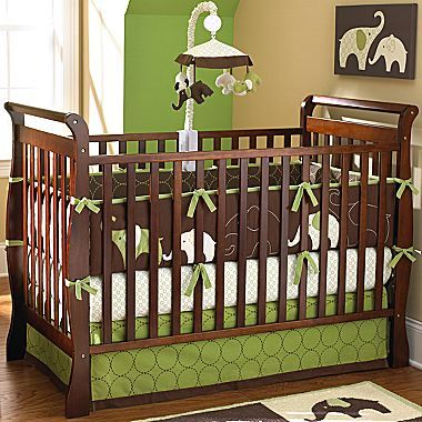 Rockland Tucson Crib Coffee Jcpenney Baby Nursery