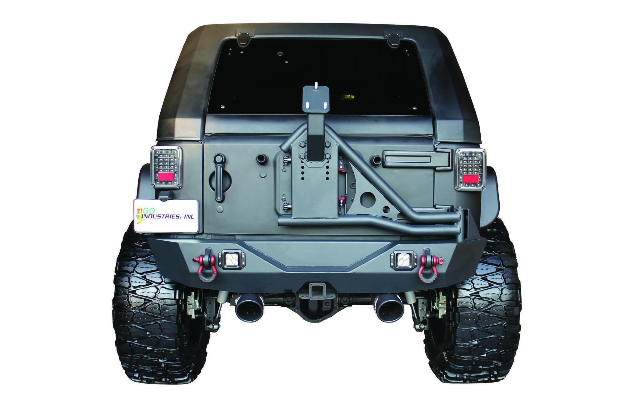 Jeep JK Rear Bumper Delete 07-18 Wrangler JK Rubicon and