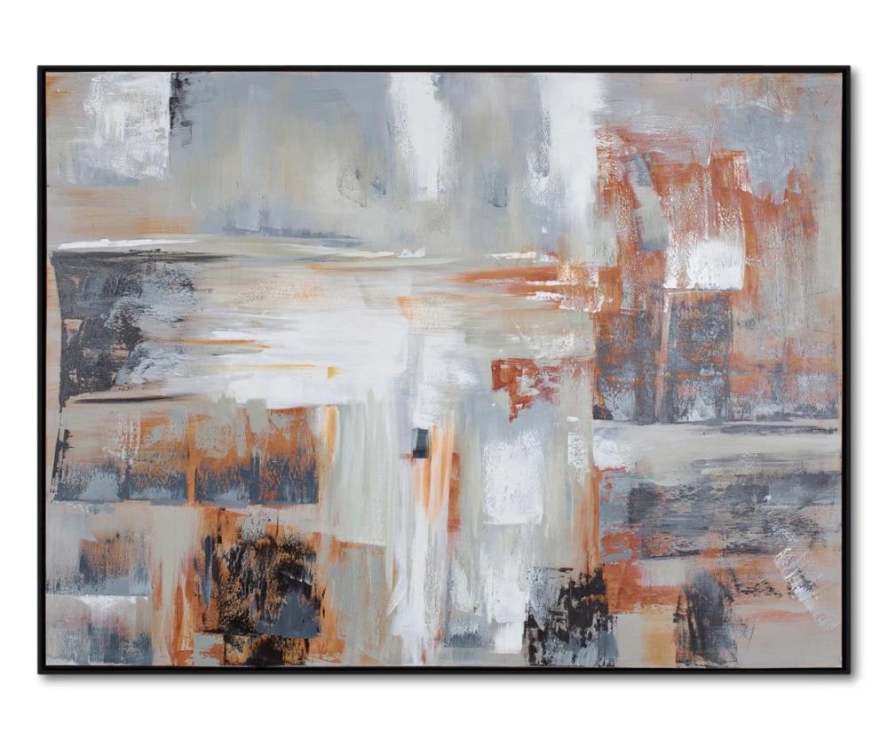 Kadsura Oil Painting Dania Furniture In 2020 Oil Painting Painting Online Wall Art