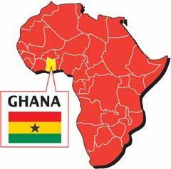 Camfed Ghana Launched In Where We Work Pinterest Ghana - Ghana map
