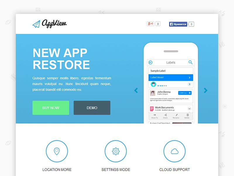 Appview Free Flat Landing Page Css Template Freebiesjedi Css Templates Landing Page Html Templates