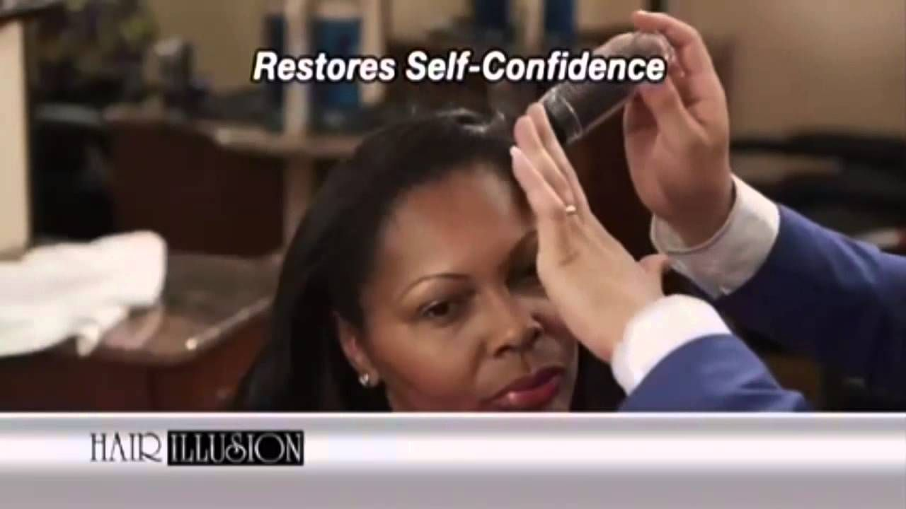 Hair Illusion Hair Concealer As Seen On TV Commercial | TV ...