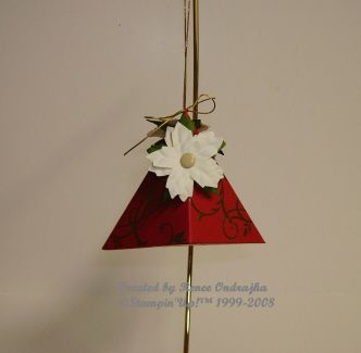 Beate Ornament by Renee O. - Cards and Paper Crafts at Splitcoaststampers