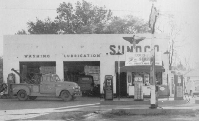 Baltimore In 1950 Few More Examples Of Gas