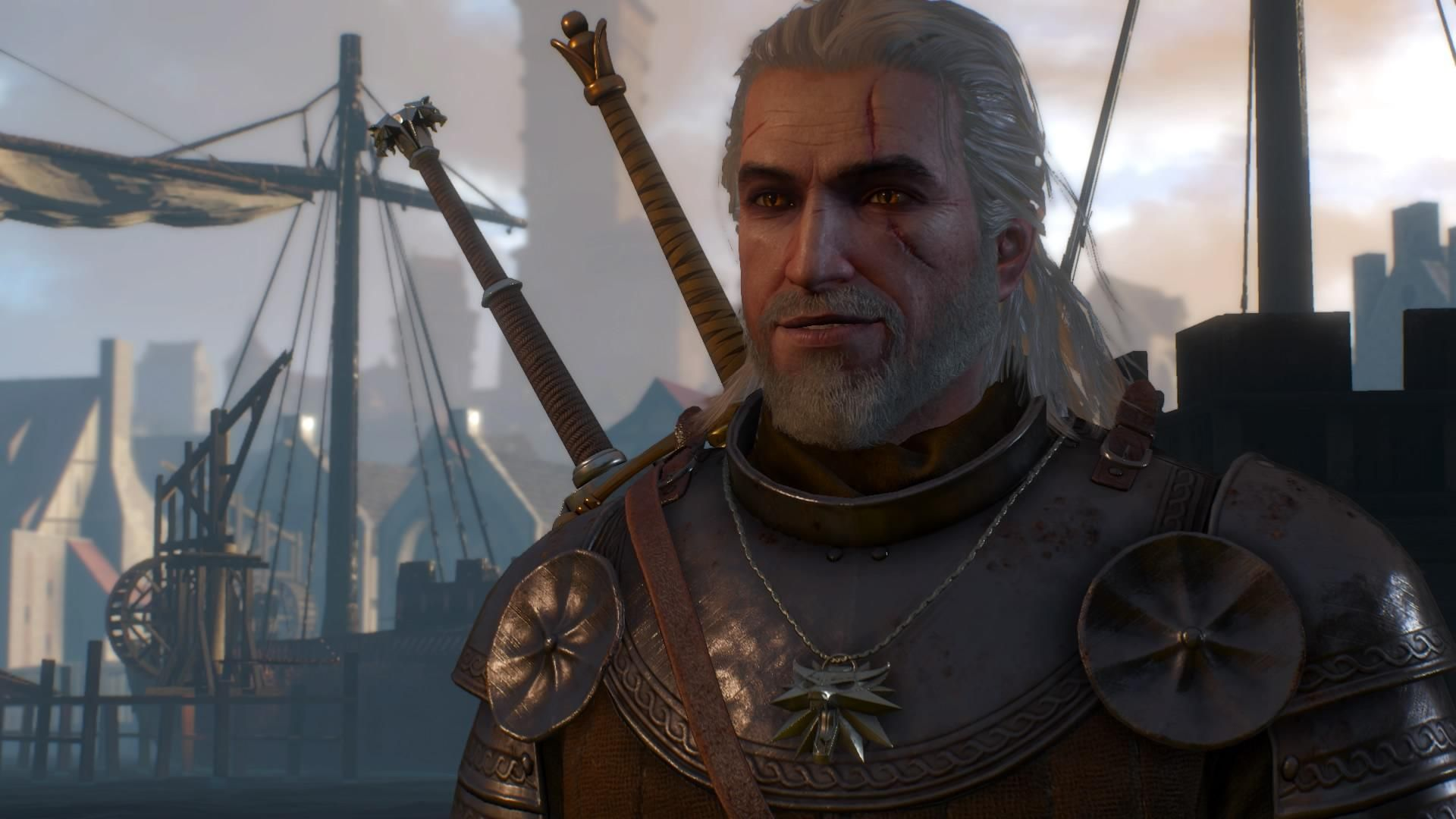 Post your smiling Geralts #TheWitcher3 #PS4 #WILDHUNT #PS4share #games #gaming #TheWitcher #TheWitcher3WildHunt