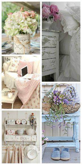 shabby chic selber machen der romantik look f r zuhause haus garten pinterest. Black Bedroom Furniture Sets. Home Design Ideas