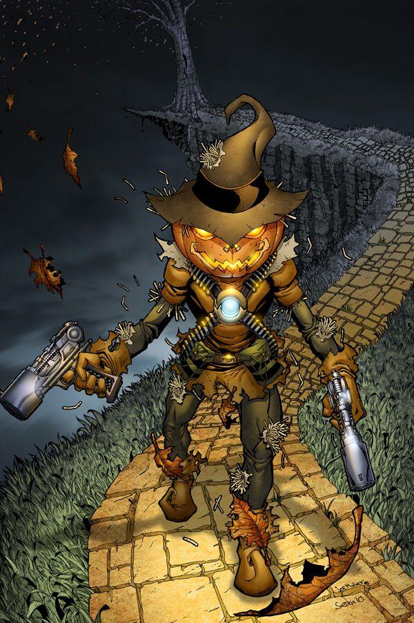 Scarecrow by SeanE.deviantart.com on @deviantART ...