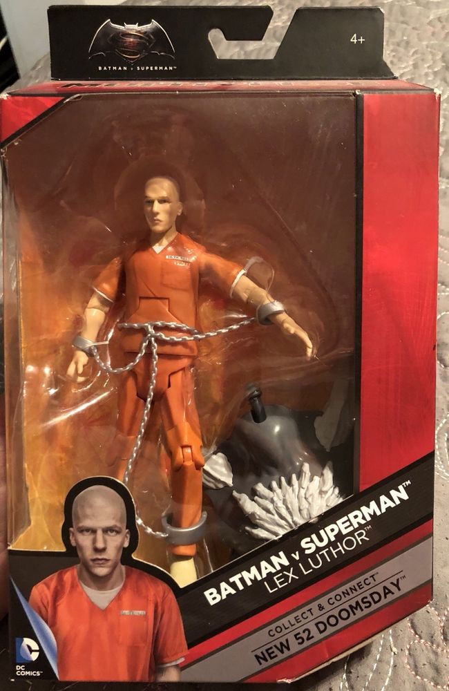 DC Comics Multiverse Collector Lex Luthor Action Figure 6-inch BY Mattel