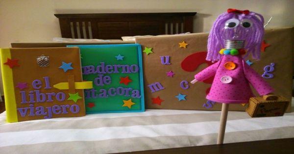 Proyecto libro viajero infantil pinterest - Ideas libro viajero infantil ...