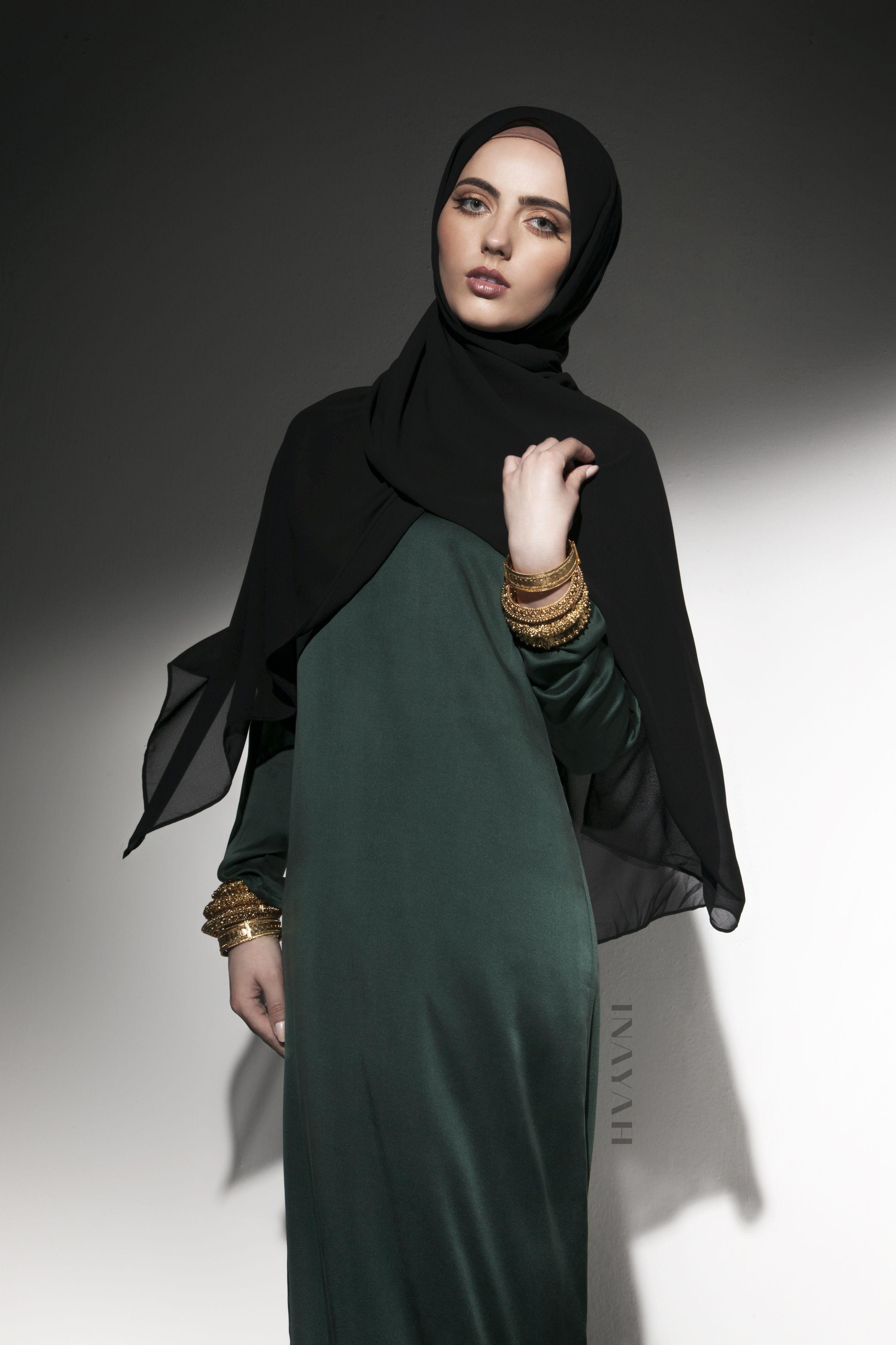 Emerald green silk maxi dress