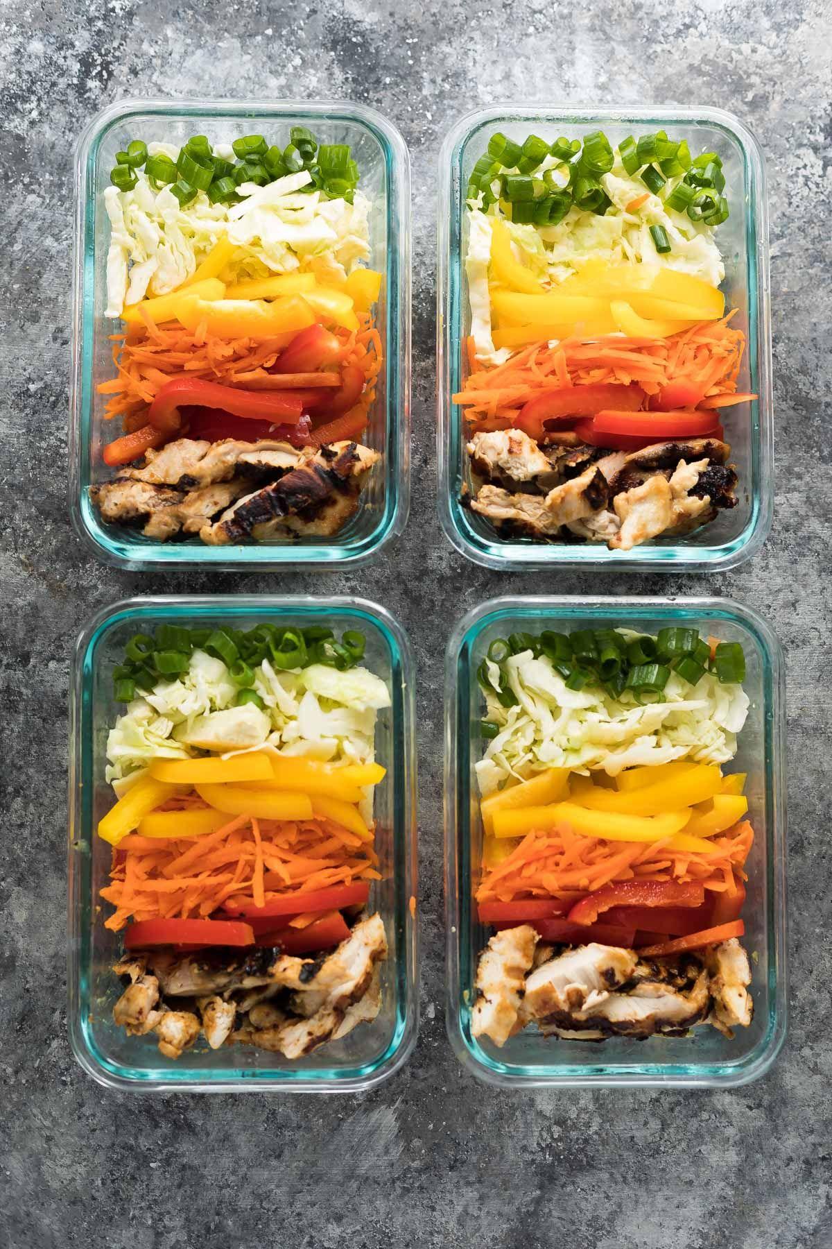 satay chicken lunch bowls | recipe | food/recipes 3 | pinterest