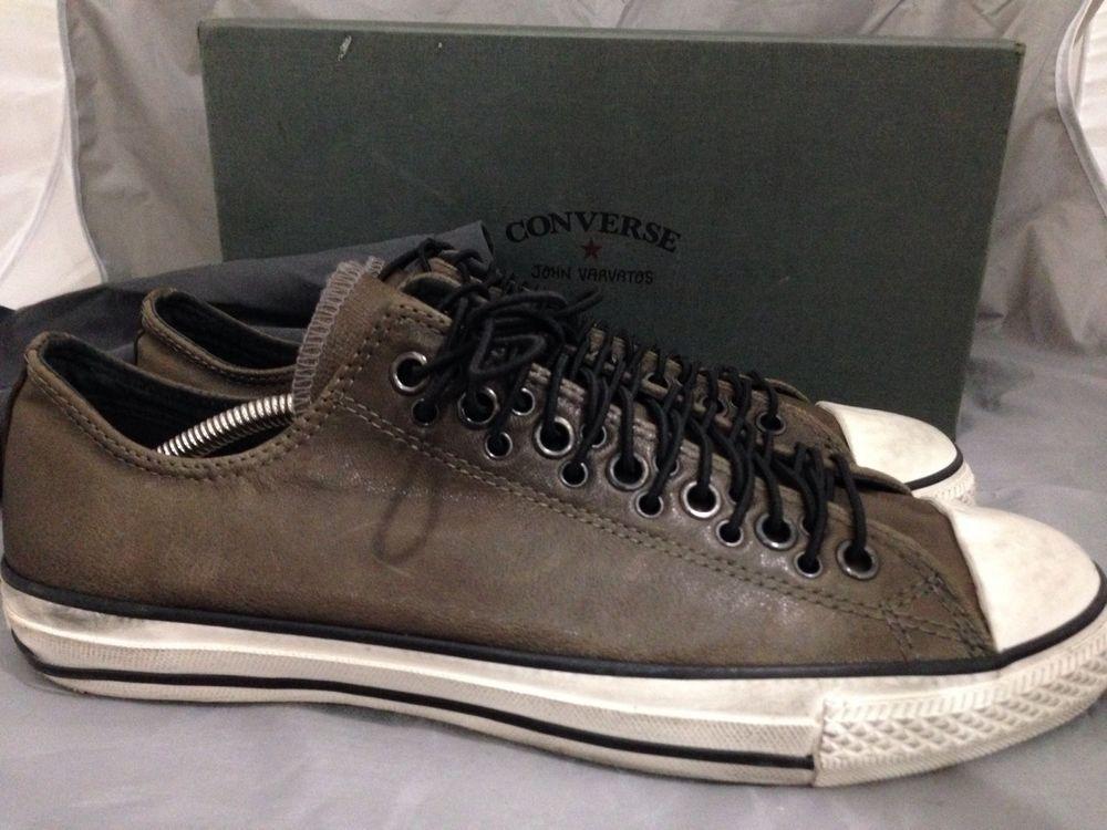 cd1c2a2e4b95a1 John Varvatos Converse All Star Multieye Ox Dark Metallic Brown Leather  Size 11  JohnVarvatos  FashionSneakers