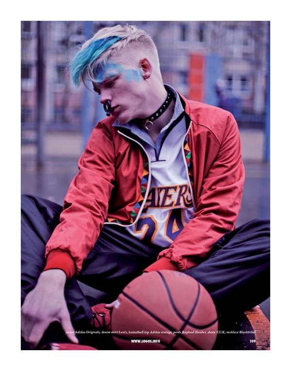 Pierced Punk Athletic Wear - The Hanging Around Sport and Street Magazine Photoshoot is Raw (GALLERY)