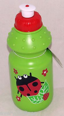 *** #children's lady bird bug green #plastic #drinks bottle - school bottle ***,  View more on the LINK: 	http://www.zeppy.io/product/gb/2/251584739130/