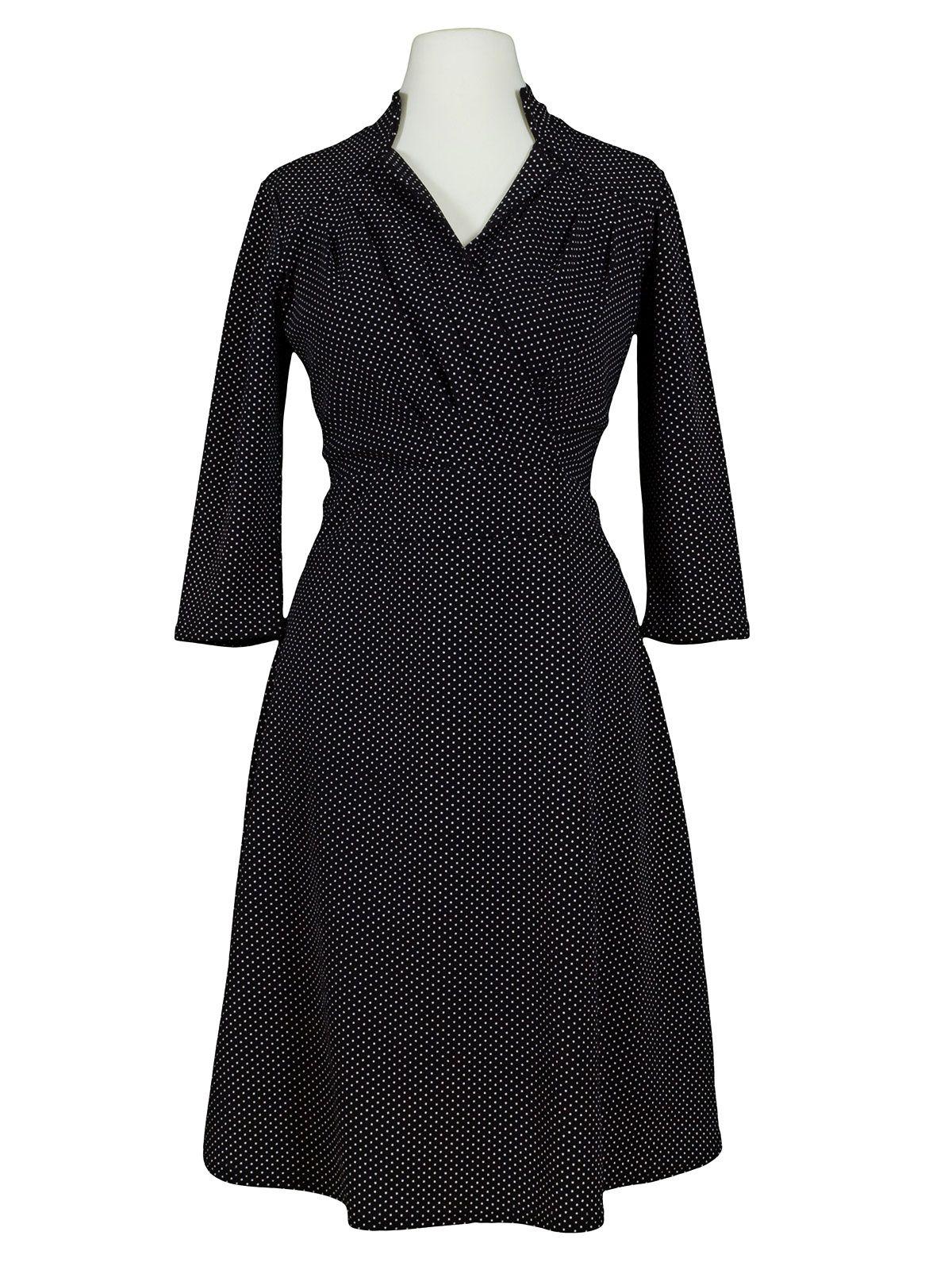 Jersey kleid punkte