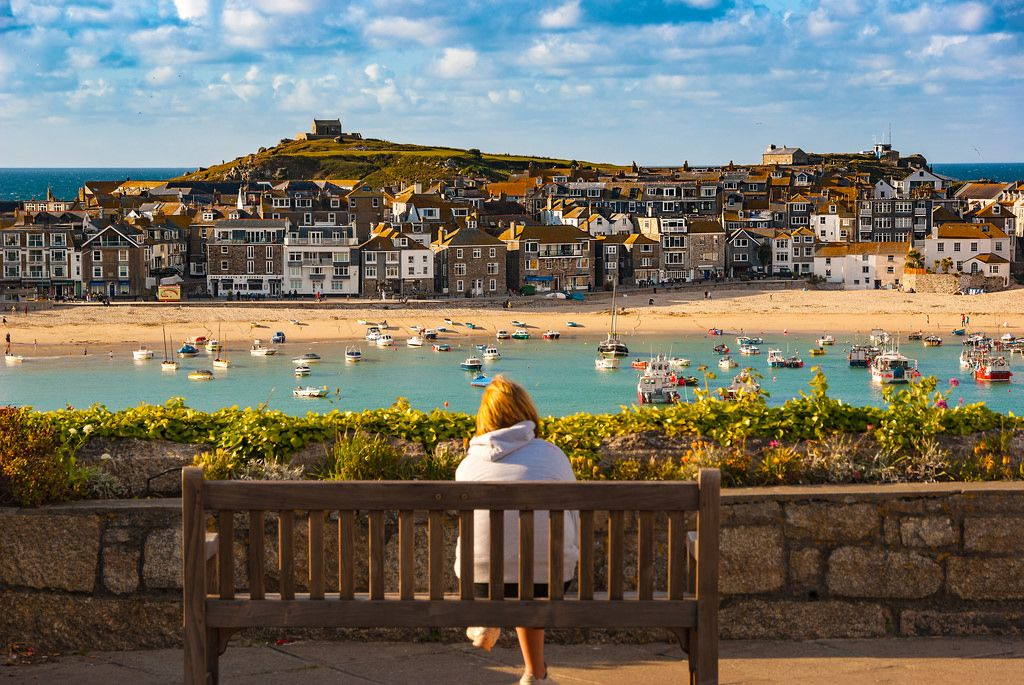 Evening In St Ives Cornwall England By Ant Moc Visiting England Cornwall England Devon And Cornwall