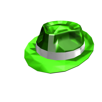 Green Sparkle Time Fedora - ROBLOX  4702d78d92d