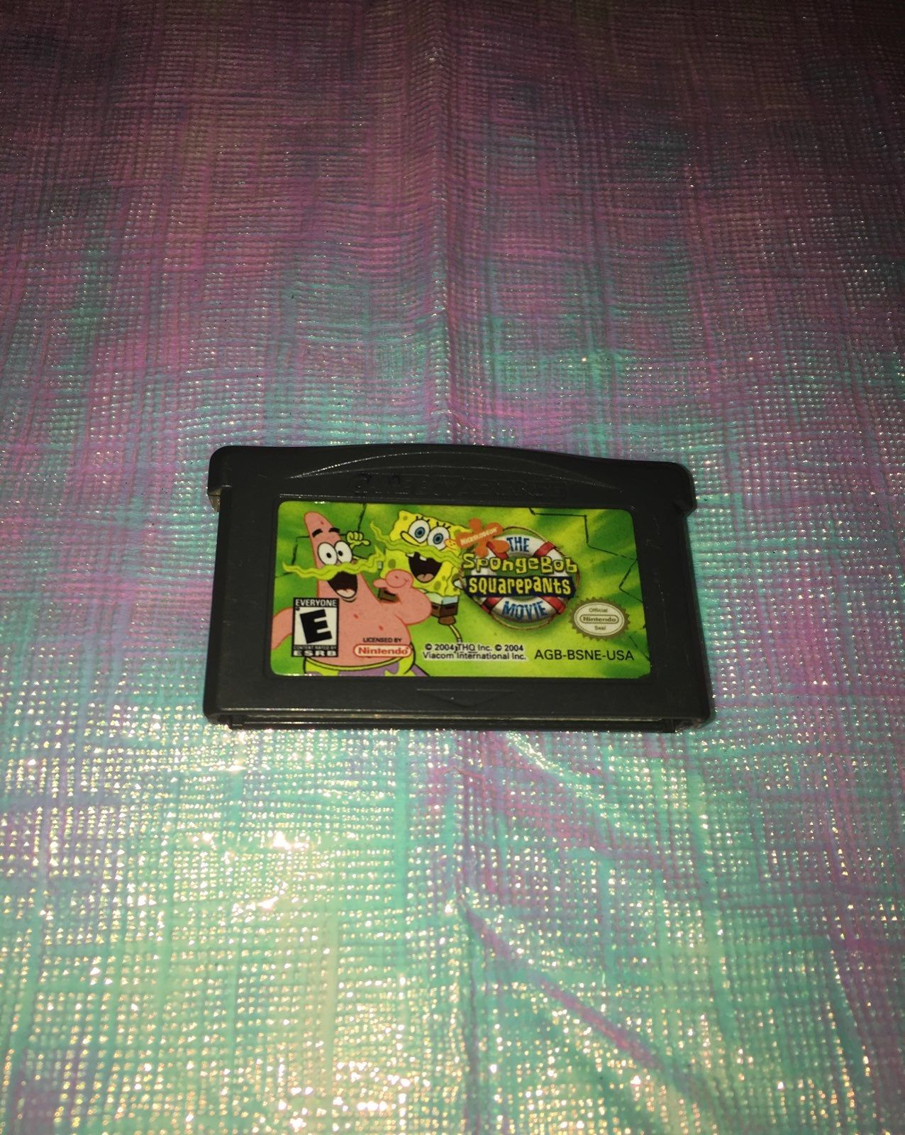 The SpongeBob SquarePants Movie Gameboy Advanced. Release
