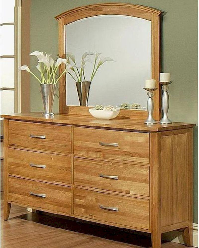 Dresser W Mirror In Light Oak Firefly County By Ayca Ay 22 0606dm