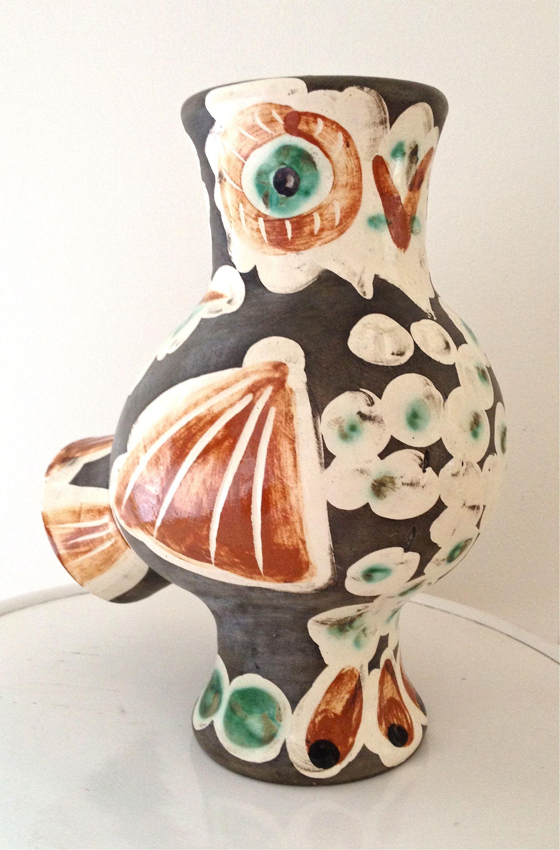 picasso ceramic owl classic camel pinterest picasso