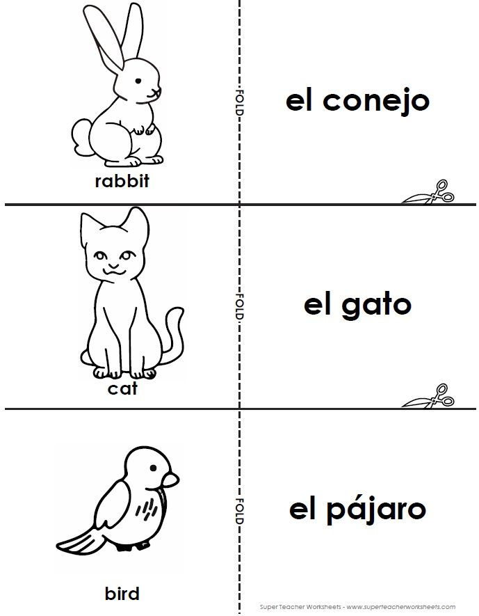 Printable Worksheets spanish reading worksheets : Super Teacher Worksheets now has Spanish! Check out these ...