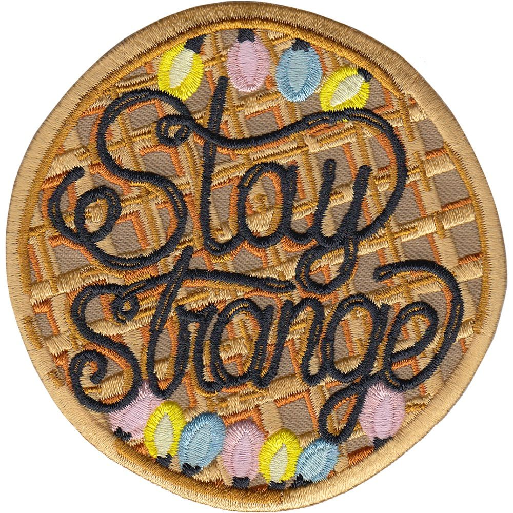 Stranger Things Fan Art Patch | Patches Strange Things And Spain