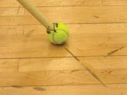 Removing Black Marks On Gym Floors Is Easy With This Trick With