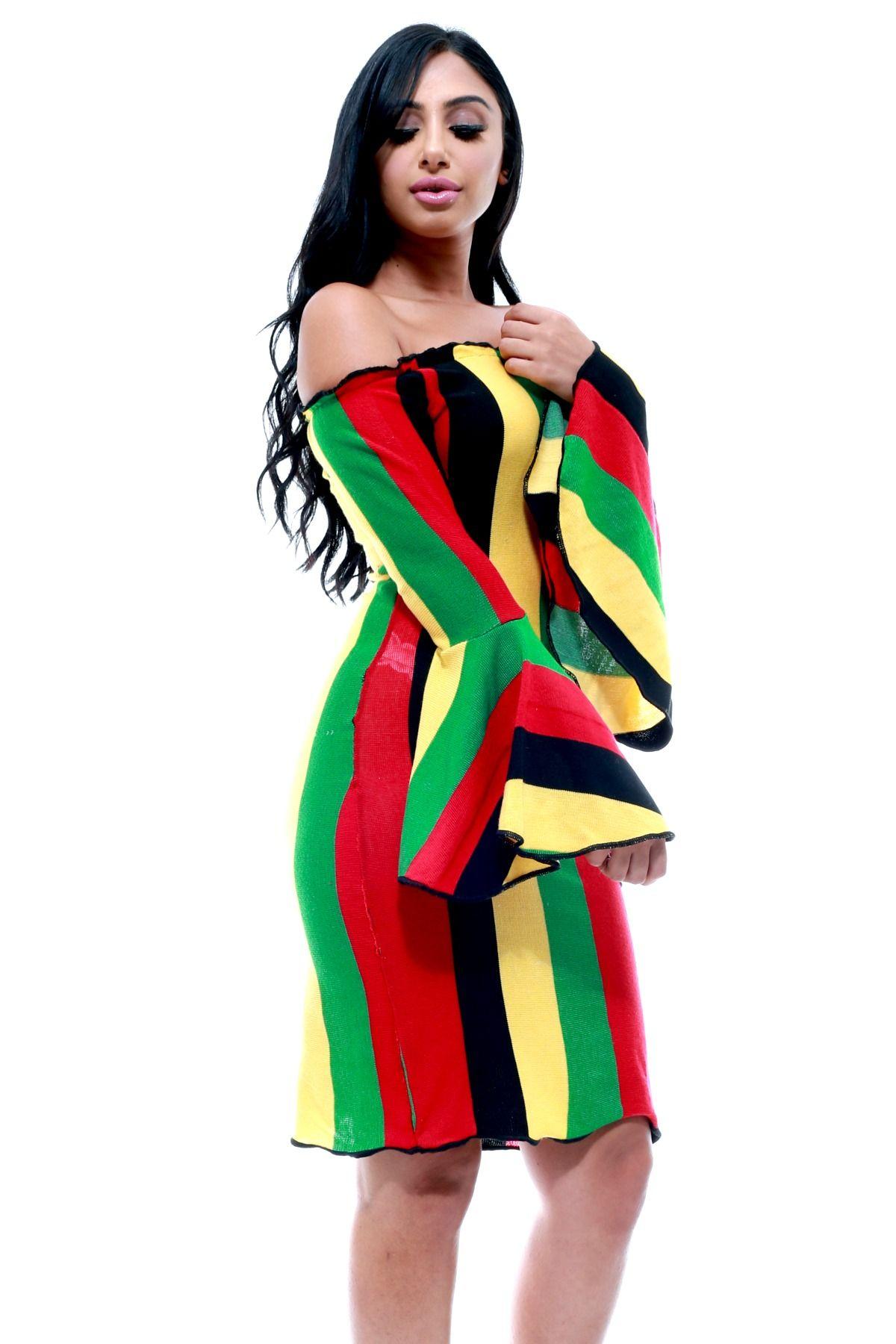 8718581a77 Rasta Dress Jamaican Clothing Trend is Back | Fashion | Rasta dress ...