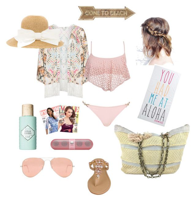 """""""perfect beach day"""" by anna-s0phie on Polyvore"""