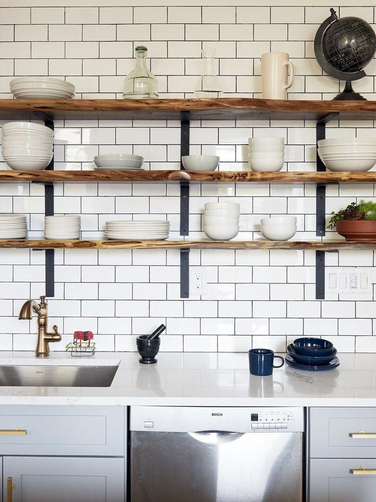 Sink Caesarstone Tile From Home Depot Nope On The Open Shelving