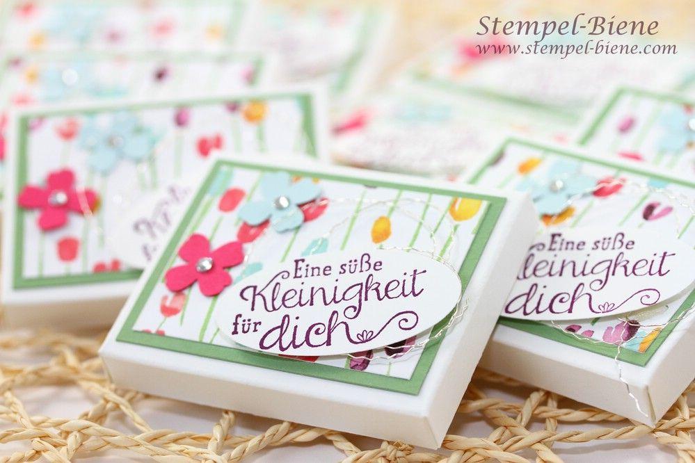 Lass den Frühling in dein Herz... Schokoladenverpackung