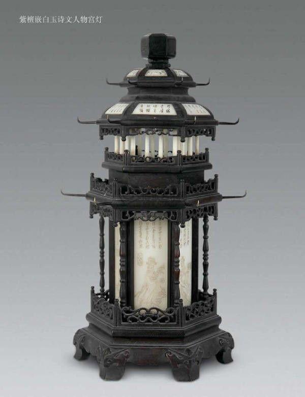 古代宫灯欣赏