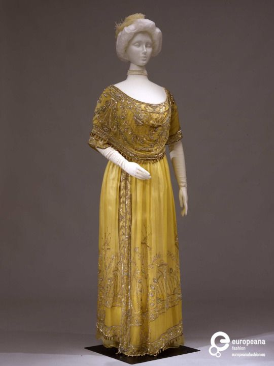 Dress, 1907-1910 Collection Galleria del Costume di Palazzo Pitti