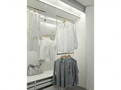 Bewegliche Kleiderstange Wohnideen Pinterest Kleiderstange - unter der treppe wohnideen