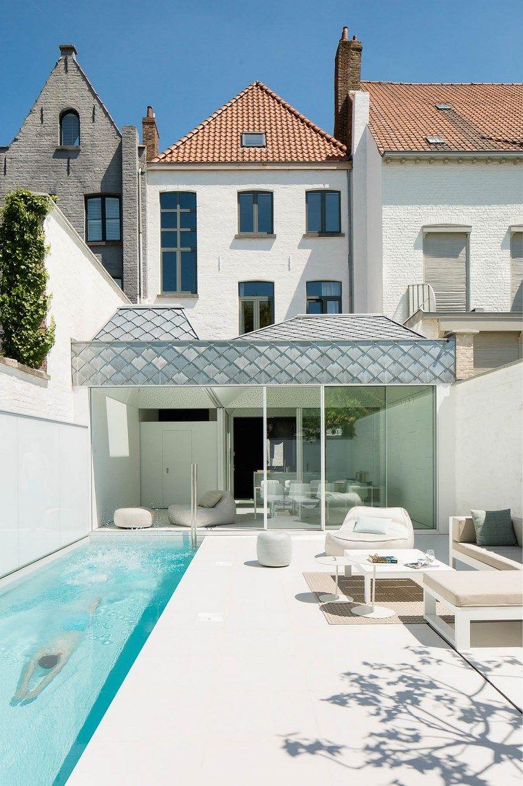 Fotos de piscinas y muebles de jardín muy atractivos | Pinterest ...