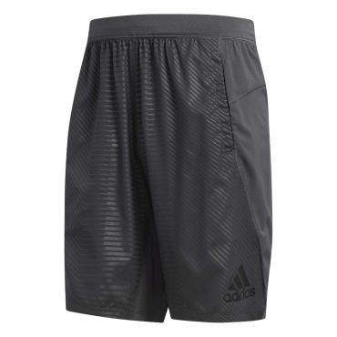 c4ff259362b adidas 4KRFT Woven 10-inch Embossed Graphic short heren grey six ...