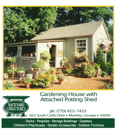 shed with french doors gardening house with attached potting shed - Garden Sheds Marietta Ga