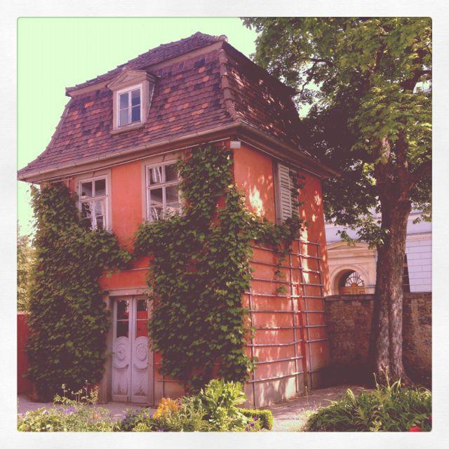 GoetheHaus in Weimar (Garten) Goethes gartenhaus