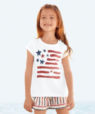 d1fbb1b93ac81 watercolor flag tee - All-American style comes in the form of a ...