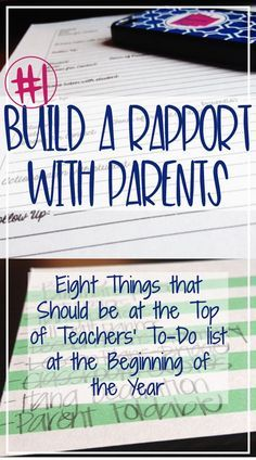Eight Things That Should be at the Top of Teachers' To-Do Lists for the Beginning of the Year
