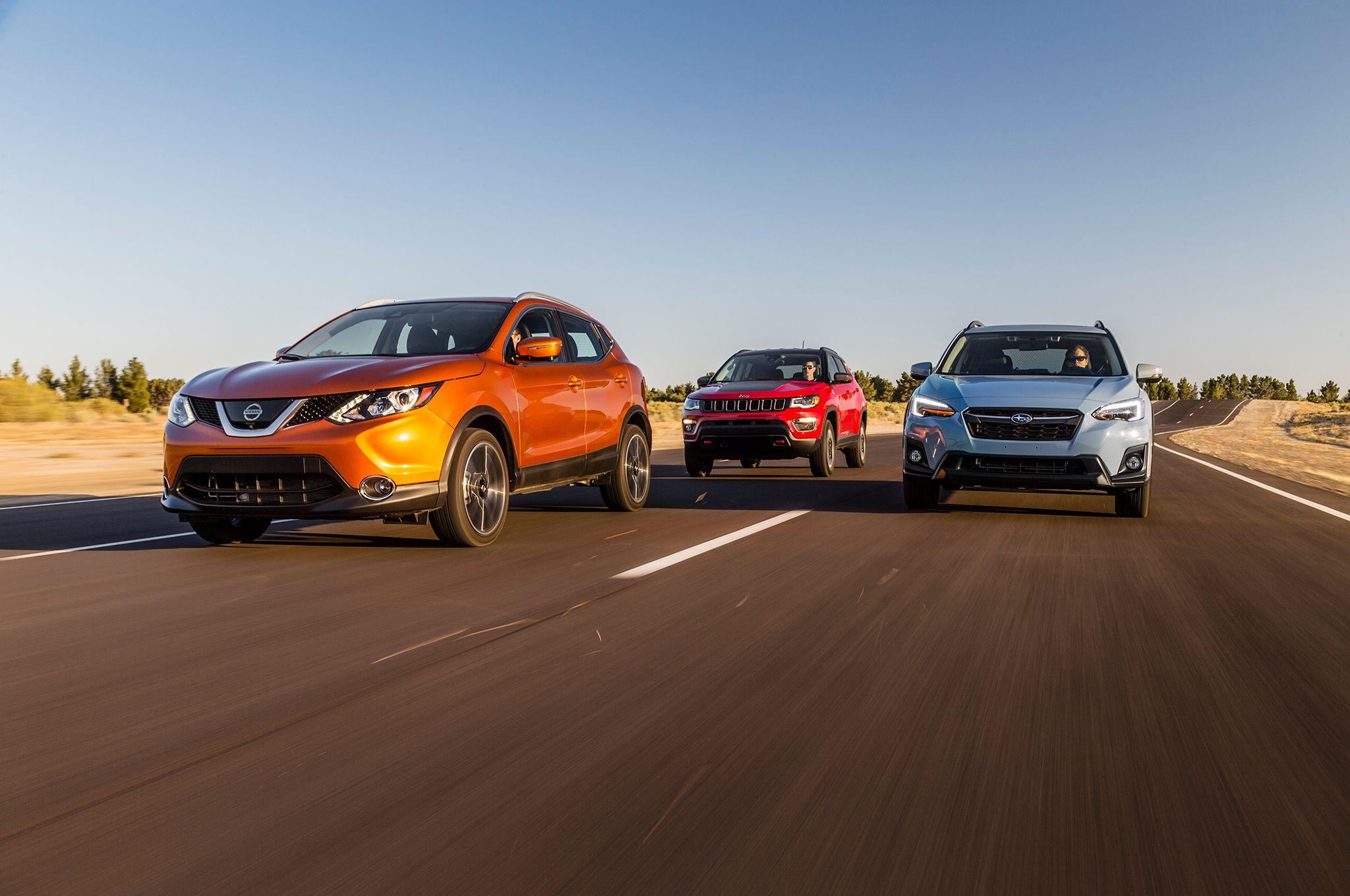 No Man's Land Jeep Compass vs. Subaru Crosstrek vs