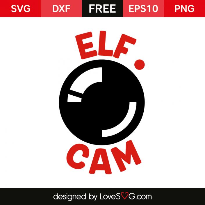Elf Cam Lovesvg Com Cricut Christmas Ideas Santa Cam Silhouette Christmas