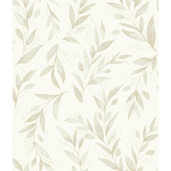 Magnolia Home By Joanna Gaines Olive Branch Paper Strippable Wallpaper Covers 56 Sq Ft Me1538 The Home Depot Beige Wallpaper Magnolia Homes York Wallpaper