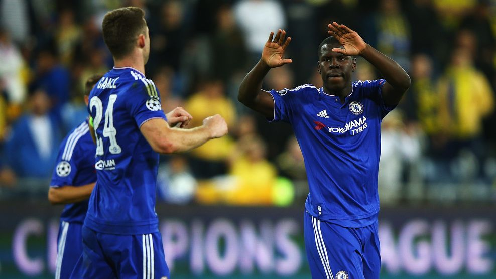 Substitute Kurt Zouma enjoys completing the cruise for