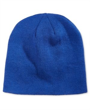 ddc91ef5937ff5 Alfani Men's Reversible Beanie, Only at Macy's - Blue | Products ...