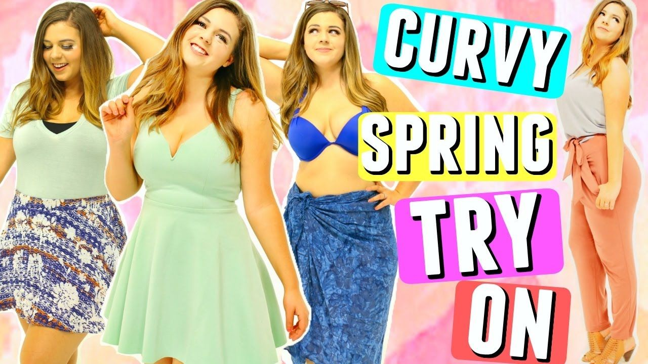 eb36263e6768 CURVY GIRL TRY ON HAUL SPRING 2017!! Spring Break Outfits for a ...