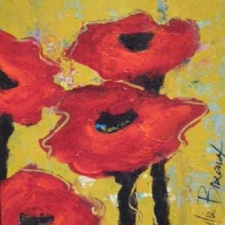 """Poppy Love"" Juliebreauxart.com"