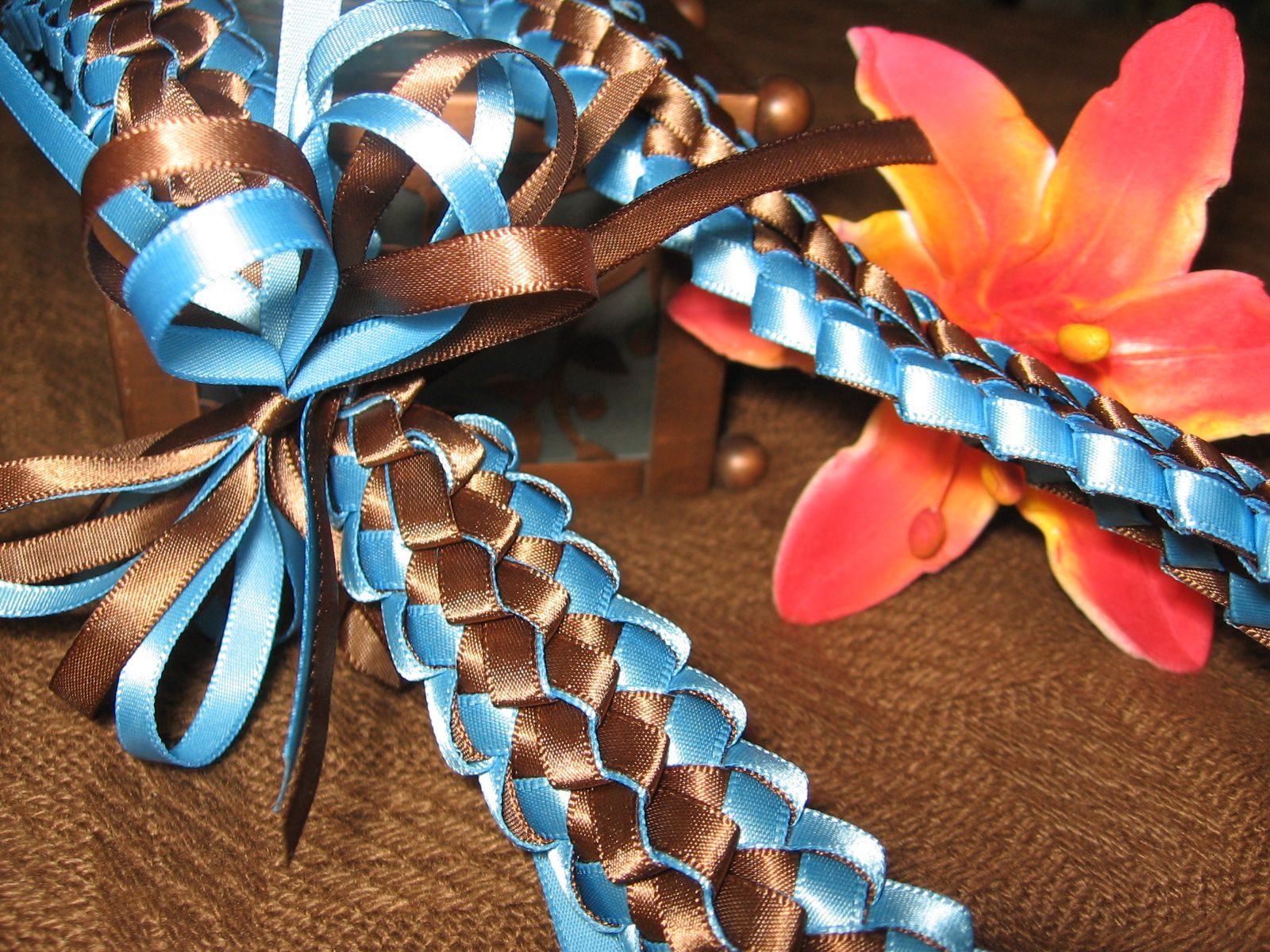 plumeria ribbon lei instructions